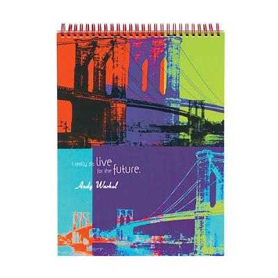 Andy Warhol Brooklyn Bridge Sketchbook By Warhol, Andy (CON)